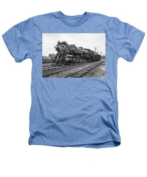 Steam Locomotive Crescent Limited C. 1927 Heathers T-Shirt by Daniel Hagerman