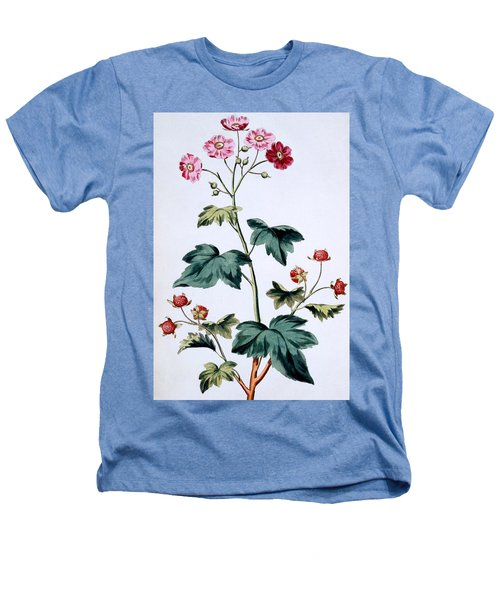 Sweet Canada Raspberry Heathers T-Shirt by John Edwards