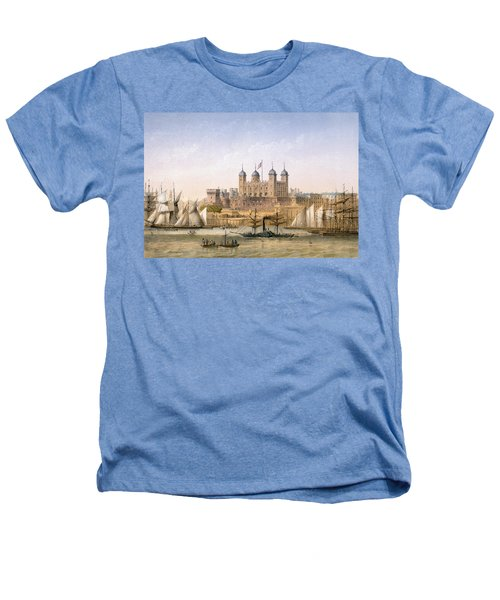 Tower Of London, 1862 Heathers T-Shirt by Achille-Louis Martinet