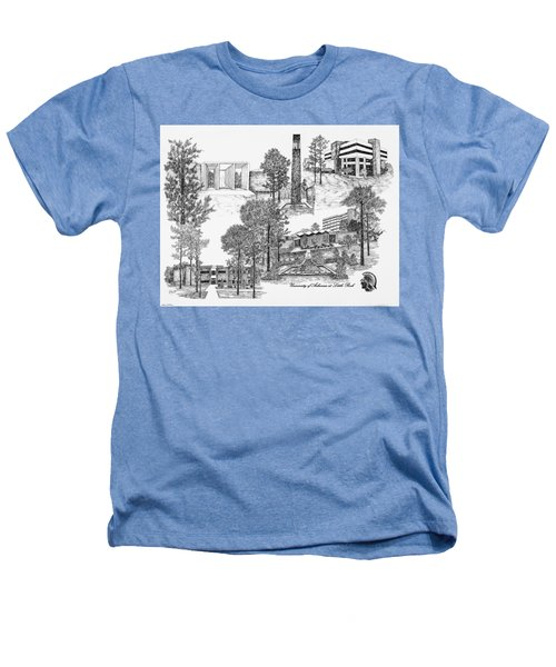 University Of Arkansas Heathers T-Shirt by Liz  Bryant