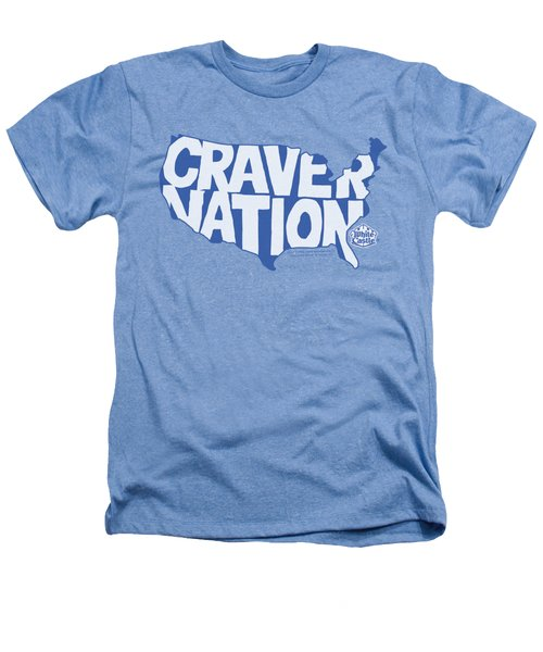 White Castle - Craver Nation Heathers T-Shirt by Brand A