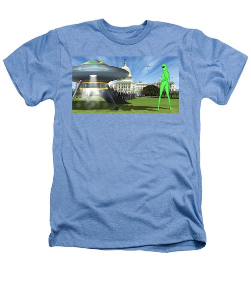 Wip - Washington Field Trip Heathers T-Shirt by Mike McGlothlen