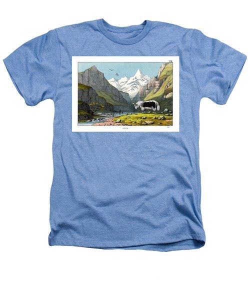 Yak Heathers T-Shirt by Splendid Art Prints