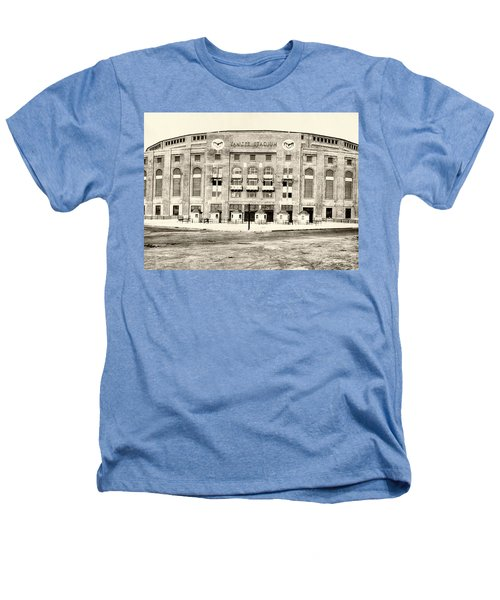 Yankee Stadium Heathers T-Shirt by Bill Cannon