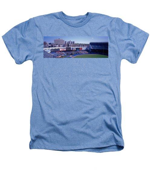 Yankee Stadium Ny Usa Heathers T-Shirt by Panoramic Images