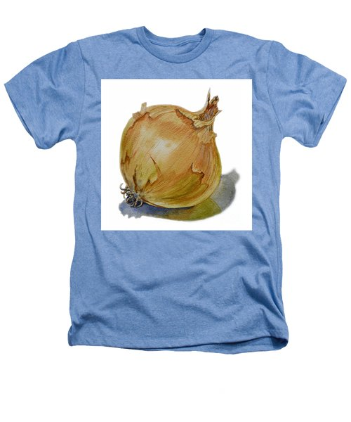 Yellow Onion Heathers T-Shirt by Irina Sztukowski