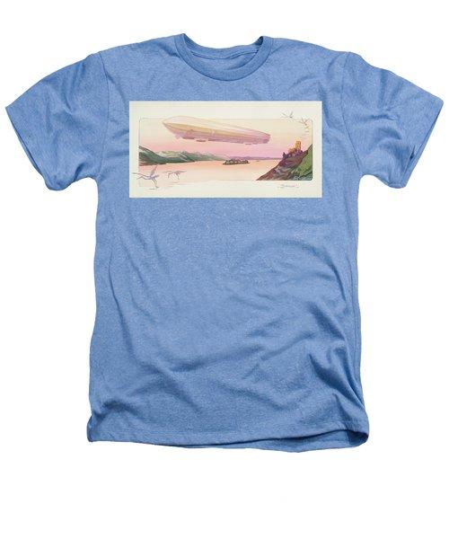 Zeppelin, Published Paris, 1914 Heathers T-Shirt by Ernest Montaut