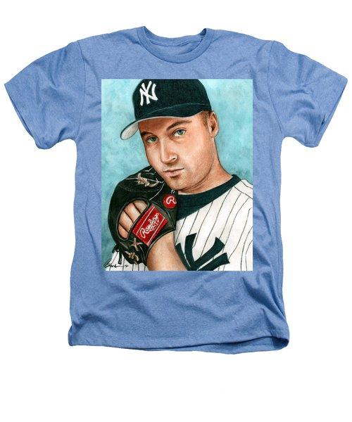 Derek Jeter  Heathers T-Shirt by Bruce Lennon