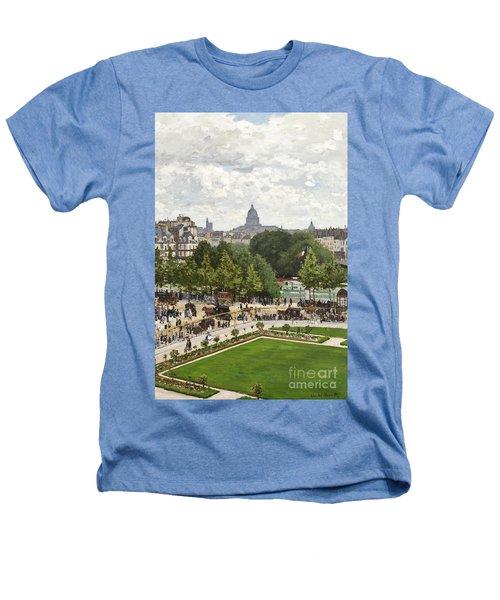 Garden Of The Princess Heathers T-Shirt by Claude Monet