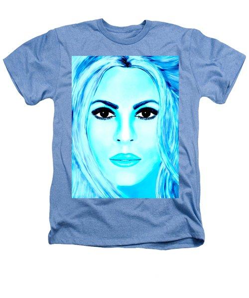 Shakira Avator Heathers T-Shirt by Mathieu Lalonde