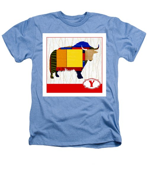 Y Is For Yak Heathers T-Shirt by Elaine Plesser