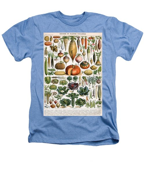 Illustration Of Vegetable Varieties Heathers T-Shirt by Alillot