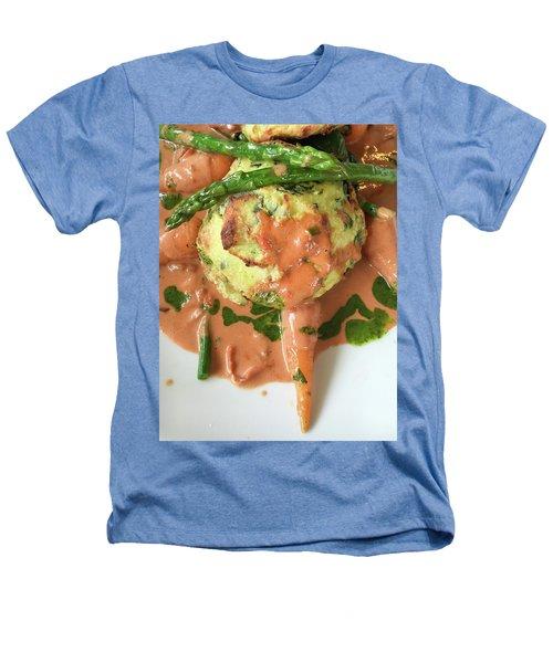 Asparagus Dish Heathers T-Shirt by Tom Gowanlock
