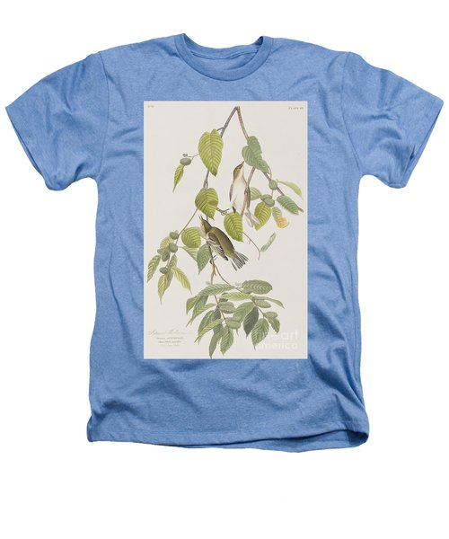 Autumnal Warbler Heathers T-Shirt by John James Audubon