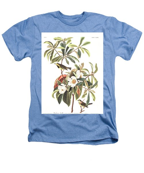 Bachman's Warbler  Heathers T-Shirt by John James Audubon