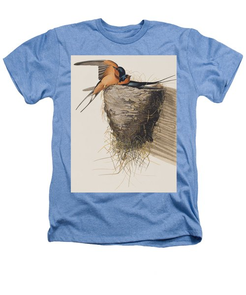 Barn Swallow Heathers T-Shirt by John James Audubon
