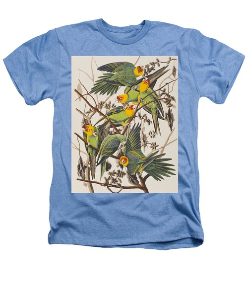Carolina Parrot Heathers T-Shirt by John James Audubon