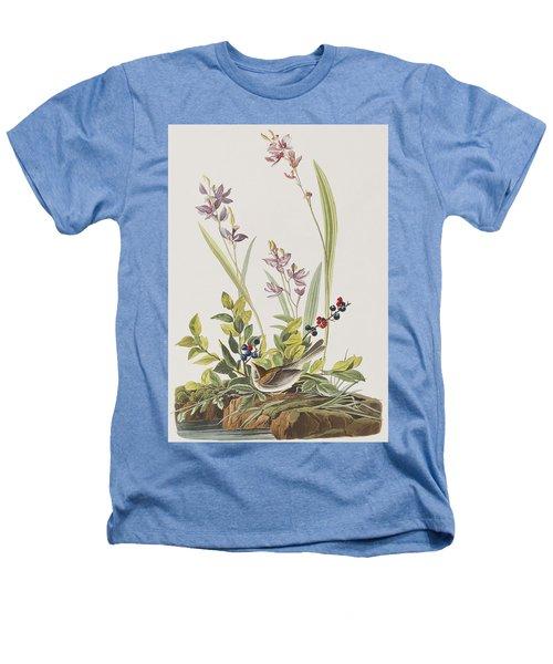 Field Sparrow Heathers T-Shirt by John James Audubon