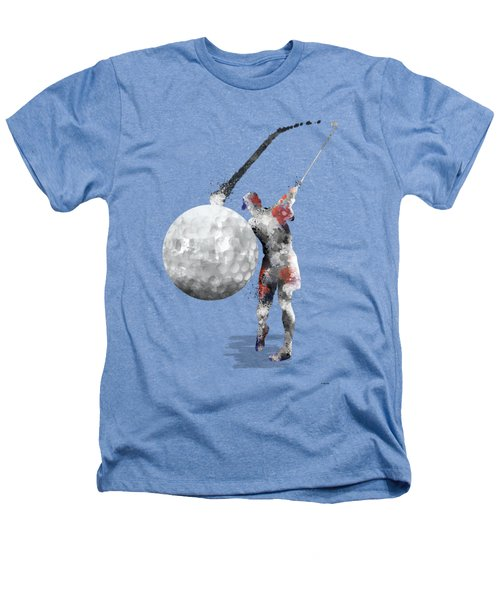 Golf Player Heathers T-Shirt by Marlene Watson