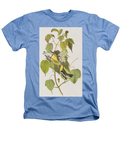 Hemlock Warbler Heathers T-Shirt by John James Audubon
