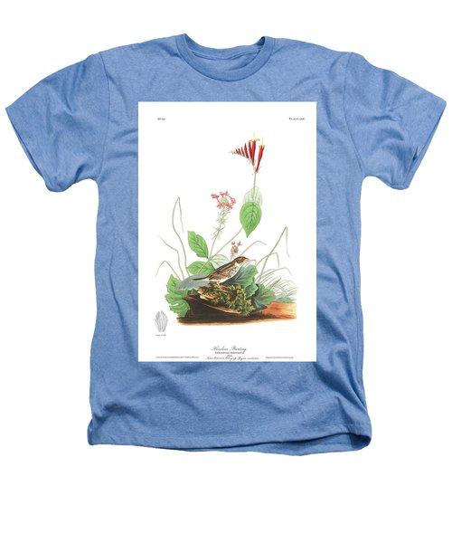 Henslow's Bunting  Heathers T-Shirt by John James Audubon