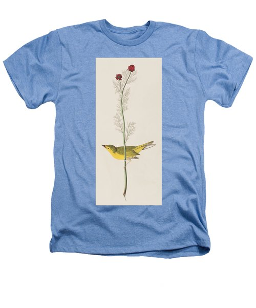 Hooded Warbler Heathers T-Shirt by John James Audubon