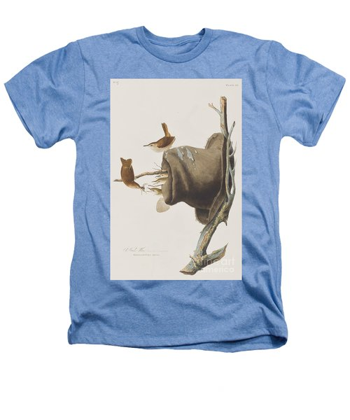 House Wren Heathers T-Shirt by John James Audubon