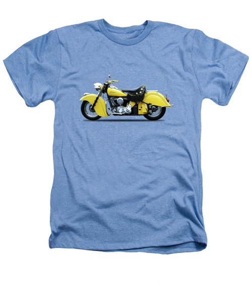 Indian Chief 1951 Heathers T-Shirt by Mark Rogan