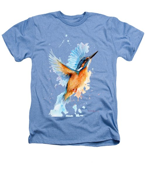 Kingfisher Heathers T-Shirt by Sarah Stribbling