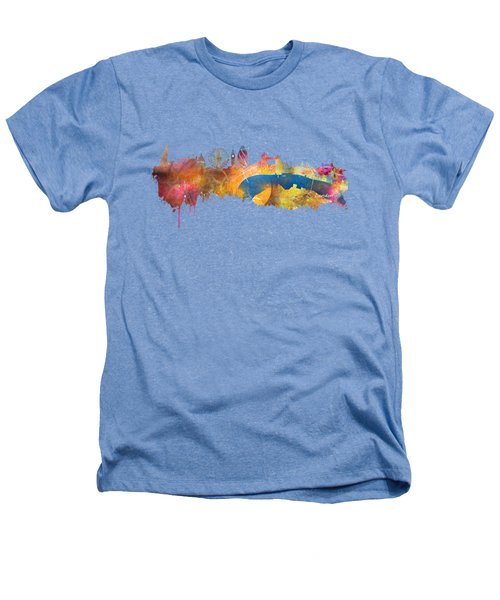 London Skyline Heathers T-Shirt by Justyna JBJart