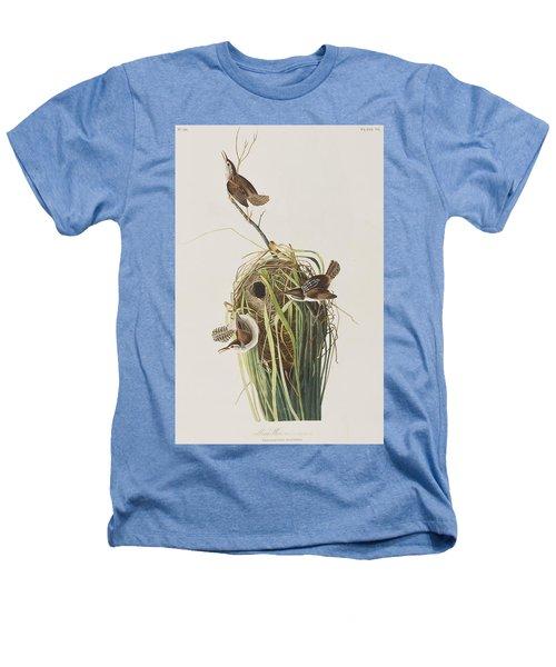 Marsh Wren  Heathers T-Shirt by John James Audubon
