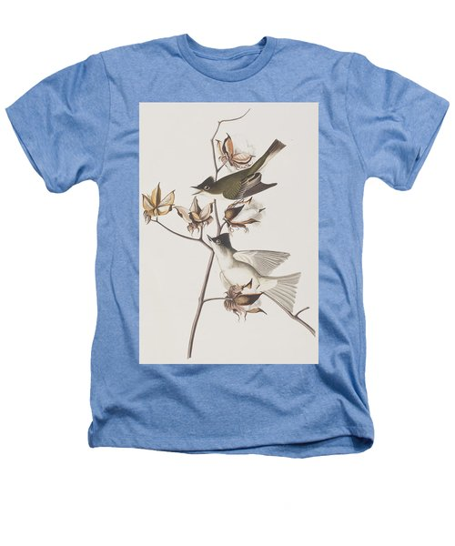 Pewit Flycatcher Heathers T-Shirt by John James Audubon