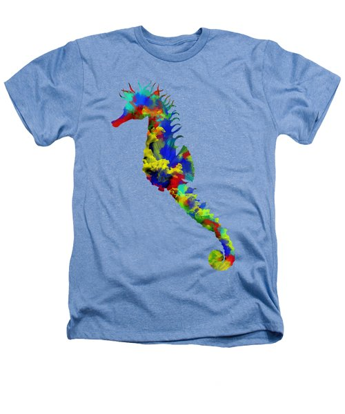 Seahorse Art Heathers T-Shirt by Diana Van