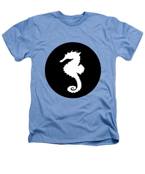 Seahorse Heathers T-Shirt by Mordax Furittus