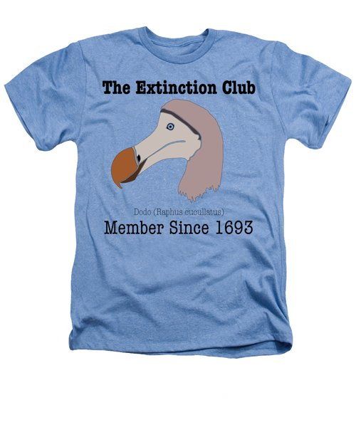 The Extinction Club - Dodo Heathers T-Shirt by Marcus England