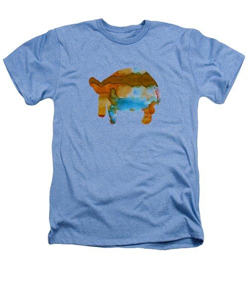 Tortoise Heathers T-Shirt by Mordax Furittus