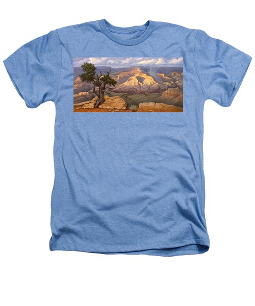 Zoroaster Temple From Yaki Point Heathers T-Shirt by Paul Krapf