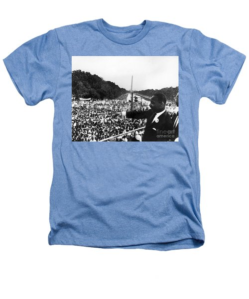 Martin Luther King, Jr Heathers T-Shirt by Granger