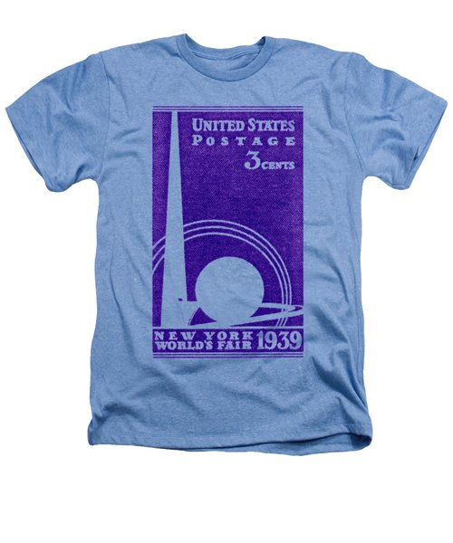 1939 New York Worlds Fair Stamp Heathers T-Shirt by Historic Image