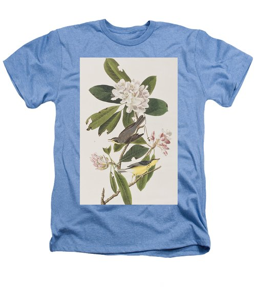 Canada Warbler Heathers T-Shirt by John James Audubon