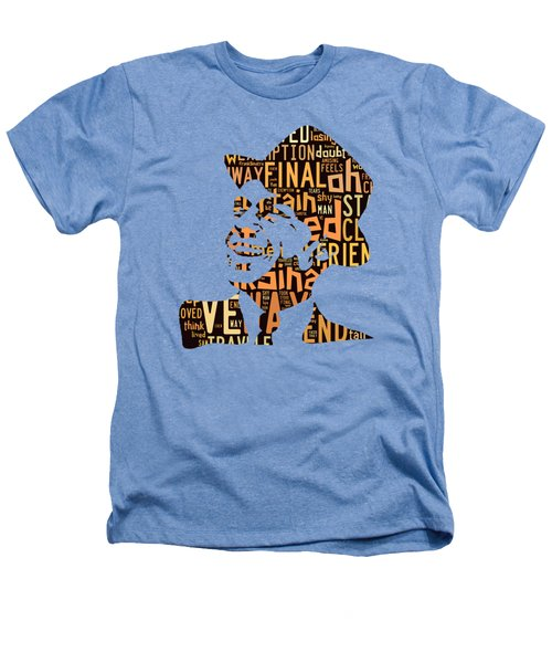 Frank Sinatra I Did It My Way Heathers T-Shirt by Marvin Blaine
