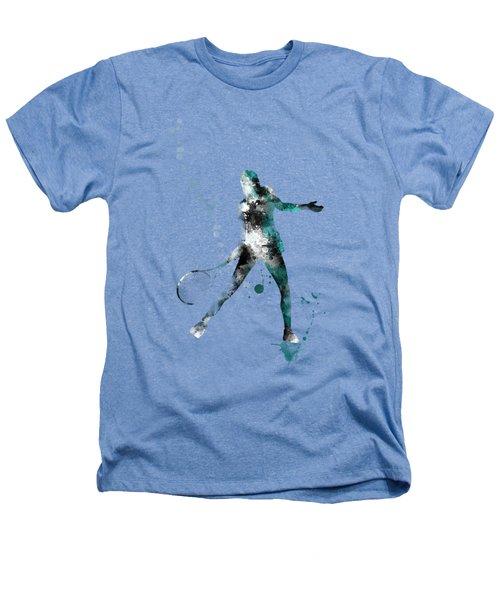 Tennis Player Heathers T-Shirt by Marlene Watson