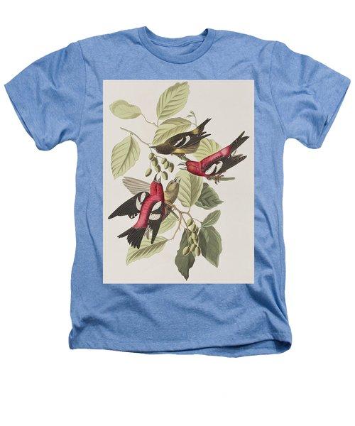 White-winged Crossbill Heathers T-Shirt by John James Audubon