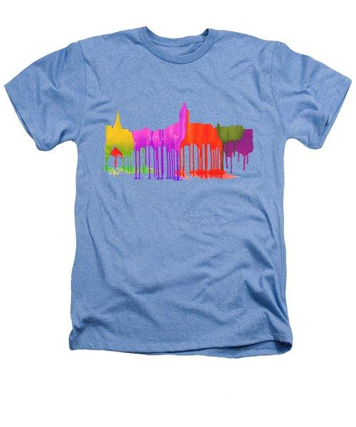 Annapolis Maryland Skyline      Heathers T-Shirt by Marlene Watson