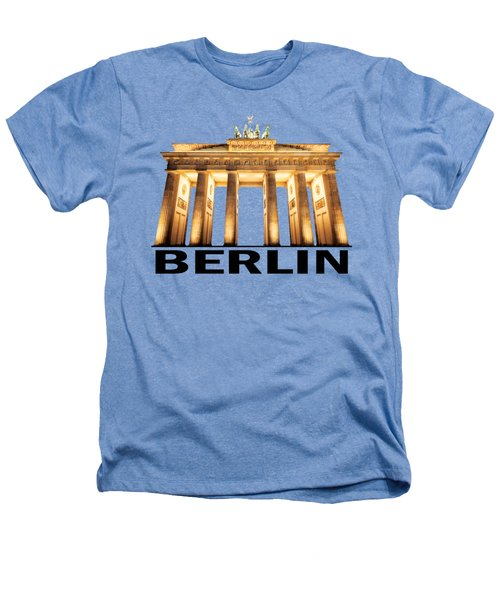 Brandenburg Gate Heathers T-Shirt by Julie Woodhouse
