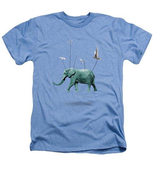 Elephant Heathers T-Shirt by Mark Ashkenazi