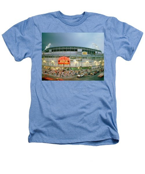 High Angle View Of Tourists Heathers T-Shirt by Panoramic Images