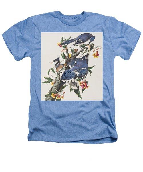 Blue Jay Heathers T-Shirt by John James Audubon