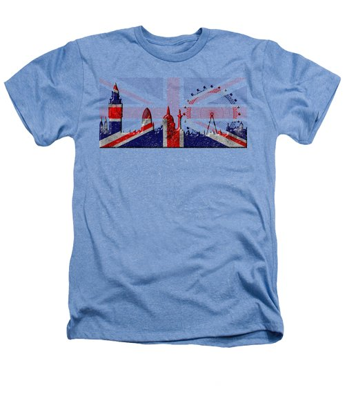 London Skyline Heathers T-Shirt by Michal Boubin
