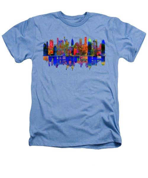New York Heathers T-Shirt by John Groves